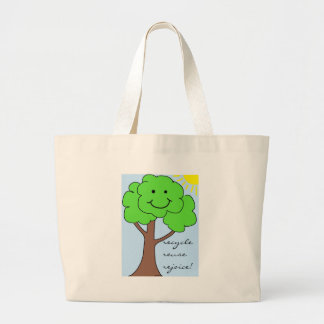 Recycle, Reuse, Rejoice Bag