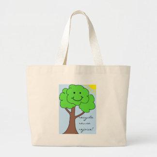 Recycle, Reuse, Rejoice Bag
