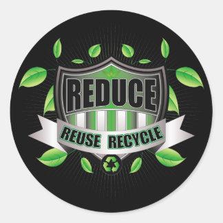 Recycle Shield Sticker