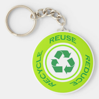 Recycle sign - Keychain
