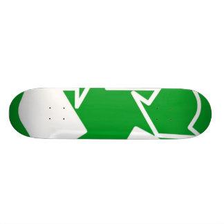 recycle custom skateboard