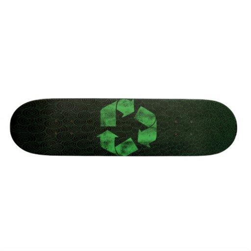 Recycle Skateboard