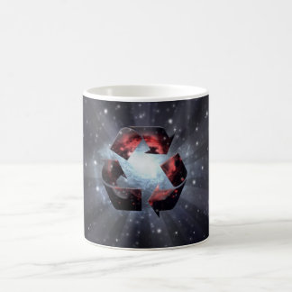 Recycle (space) coffee mug