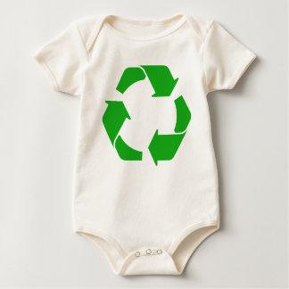 Recycle Symbol baby Baby Bodysuit