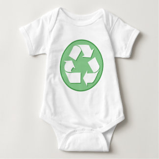 Recycle Symbol Baby Bodysuit