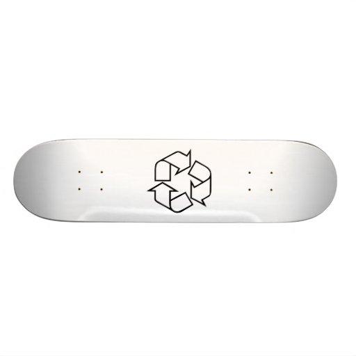 Recycle Symbol Skate Decks