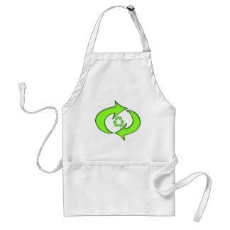 Recycle Symbol Standard Apron