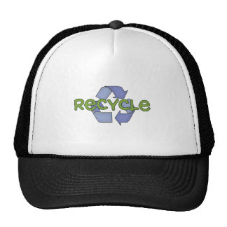 Recycle T-shirts and Gifts Cap