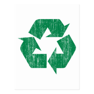 Recycle T-Shirts For Earth Day Postcard