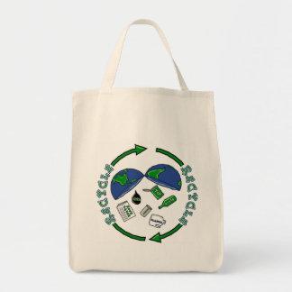 Recycle totebag tote bag