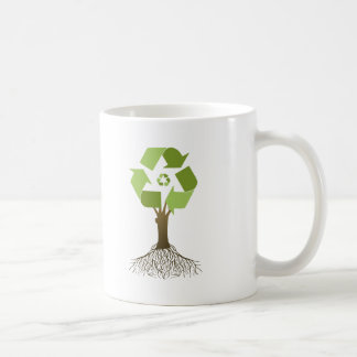 Recycle tree mugs