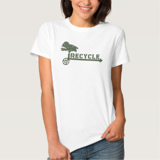 Recycle Tree Tee Shirt