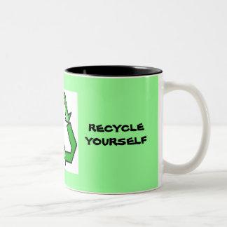 Recycle yourself Mug