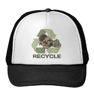 Recycle Zombie Hats
