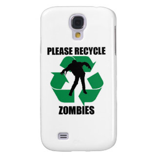 Recycle Zombies Samsung Galaxy S4 Cover