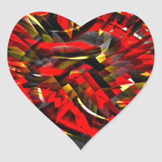 Recycled Heart Sticker