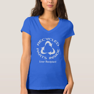 Recycled Parts Inside - with customised text T-Shirt