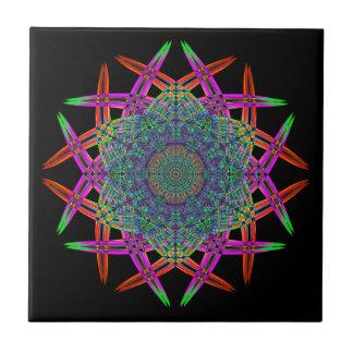 Recycled Smoke Art  (1) Ceramic Tile