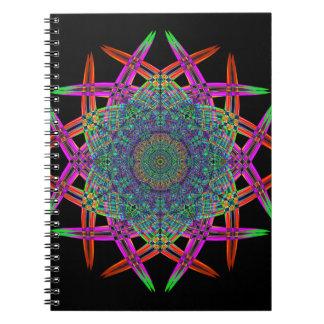 Recycled Smoke Art  (1) Spiral Notebook