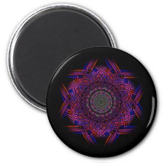 Recycled Smoke Art  (4) 6 Cm Round Magnet