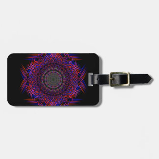 Recycled Smoke Art  (4) Luggage Tag