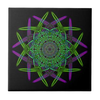 Recycled Smoke Art  (5) Ceramic Tile
