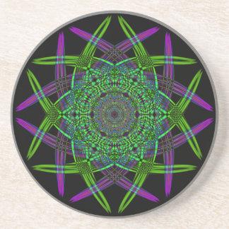 Recycled Smoke Art  (5) Coaster