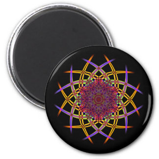 Recycled Smoke Art (7) 6 Cm Round Magnet