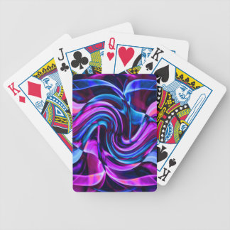 Recycled Smoke Art Design Bicycle Playing Cards