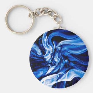 Recycled Smoke Art Design Key Ring