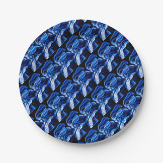 Recycled Smoke Art Design Paper Plate