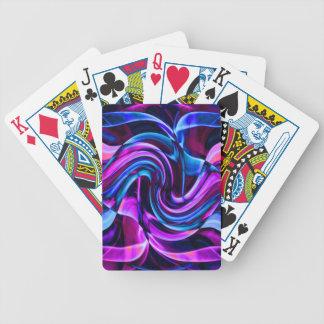 Recycled Smoke Art Design Poker Deck