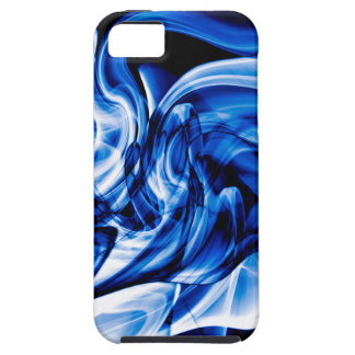 Recycled Smoke Art Design Tough iPhone 5 Case