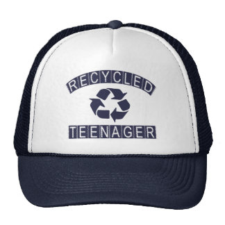 Recycled Teenager Mesh Hat