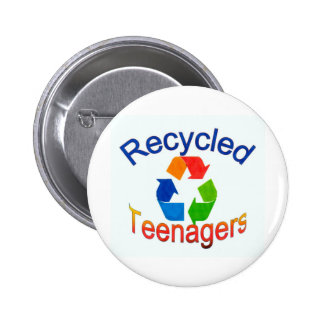 Recycled Teenagers Logo jpg Button