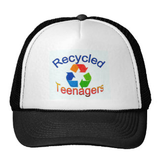 Recycled Teenagers Logo.jpg Trucker Hats