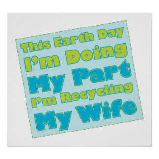 Recycled Wife Poster