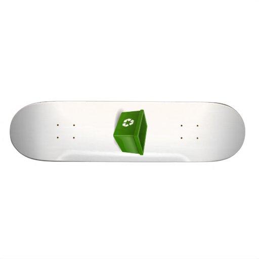 Recycling Bin Skateboards