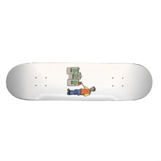 Recycling Bins Custom Skateboard