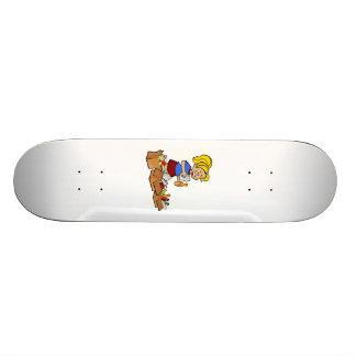 Recycling Boxes Skateboard Decks