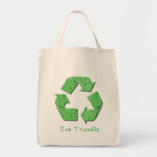 Recycling Grocery Tote Bag