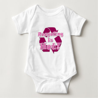 Recycling is Hot Baby Bodysuit
