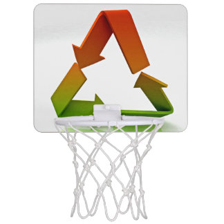 Recycling Logo Mini Basketball Hoop