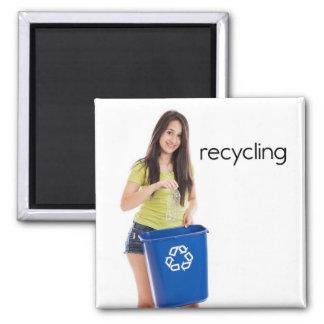 Recycling Refrigerator Magnet