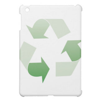 Recycling sign case for the iPad mini