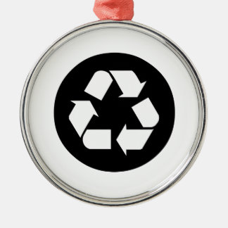 Recycling Sign Christmas Ornaments