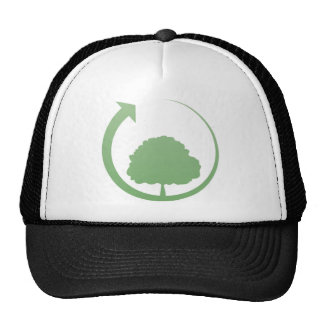 Recycling sign hat