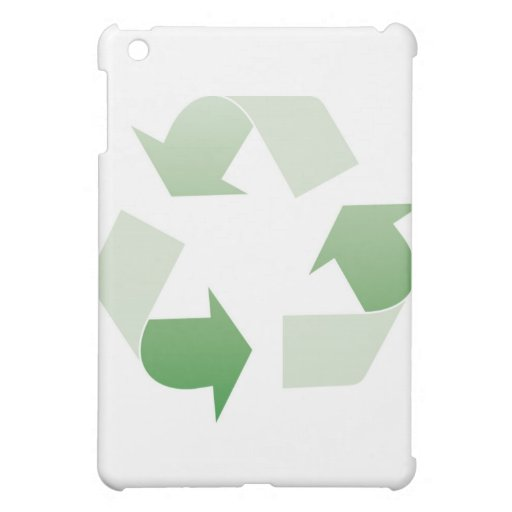 Recycling sign iPad mini cases