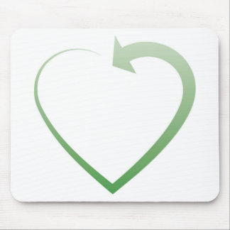 Recycling sign mousepads