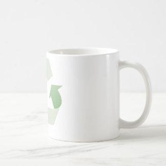 Recycling sign mug
